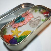 Commission: Altoids Miniature Saltwater Pond by Bon-AppetEats