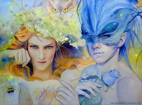 Oberon and Titania by kimberly80