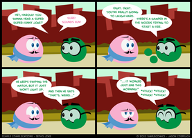 SC195 - Seth's Joke VI by simpleCOMICS
