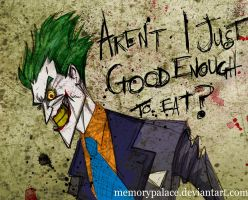 Sketchy Arkham Joker by memorypalace