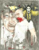 Hannibal Lecter color by ChrisOzFulton
