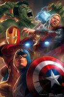 Avengers -The Movie - Collaboration by furuzono