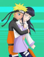 Naruhina surprise hugs -EDIT- by Amatsu-Kaze
