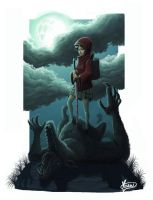 Little riding hood by Yizard