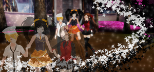 MMD - Risas, amistad y un shota. (?) -Commissions- by GisLenKagamine