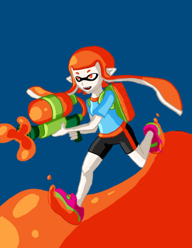Splatoon by Stareon