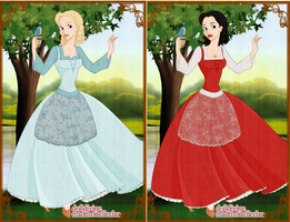 Snow White and Rose Red by x-pink-tutu-x