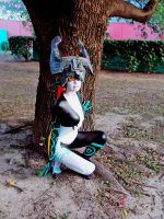 Under the tree - Midna Cosplay by MelodyZombie