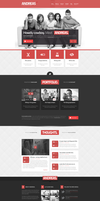 Andreas PSD Template by donkeythemes