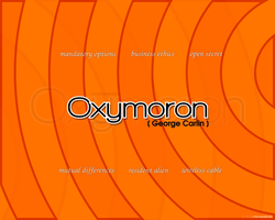 Oxymoron by Chromakode