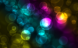 Colorful Bokeh Wallpaper 1 by Slik-S