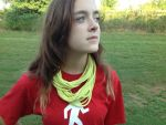 Stringy T-shirt Scarf by Aelorn