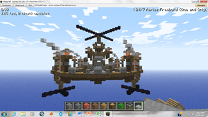Minecraft Steampunk Platform 1 by irHAXOR