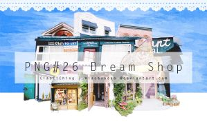 PNG#26 Dream Shop by miaoaoaoao