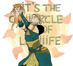 ITS THE CIRCLE OF LIIIFE by LazyBasy