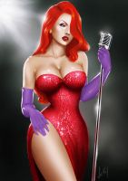 Jessica Rabbit by VickyInu