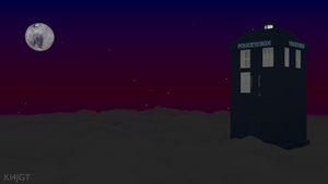 TARDIS in the Clouds by Ki4jgt