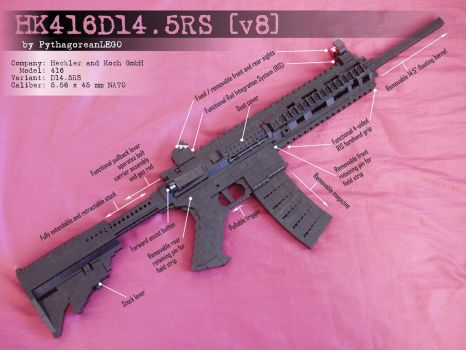 HK416D14.5RS - v8 by xjcdentonx