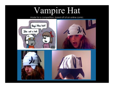 Vampire Hat by kibiart