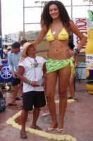 Tall Corona girl by lowerrider