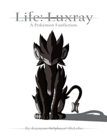 Life Luxray Title Card by k9player