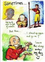 happymaker thing avatar aang by mondamo