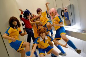 Cosplay - CRACKFUL Raimon GO by minamiya