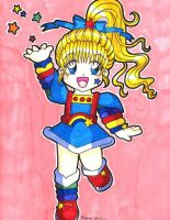Rainbow Brite in Anime Style by gypsychilde