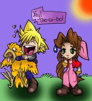 Chocobo Squee by Bhryn