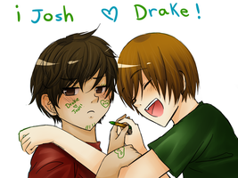 Drake and Josh by MomochiInWonderland