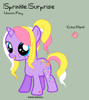 MLP - Sprinkle Surprise Reference Sheet by porcelian-doll