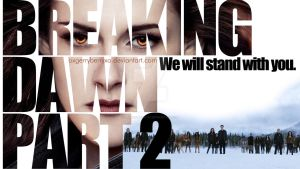 Breaking Dawn part 2 - We will stand with you by oXGeRRyBeRRyXo