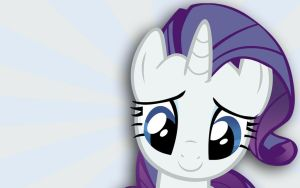 Rarity Vector Background by crklz