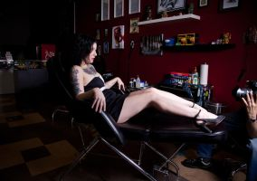 Tattoo Shop 3 by Mistress-Zelda
