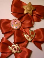 Sailor Moon Hair Accesories for Anime Boston by sakkysa
