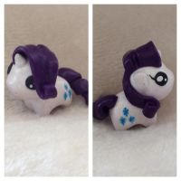 Tiny Rarity Inspired Sculpt by Rainbow-Rocket