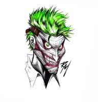 The New 52 Joker by renomsad