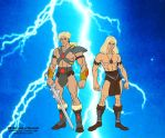 He-ro son of He-man by FaGian