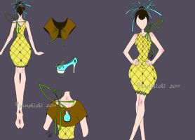 Pineapple Dress by sunshishi