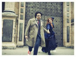 Doctor Who Photoshoot 2: Run for your life by Ligechan
