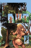 Jungle Girl page 2 by GiovaniKososki