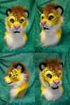 Yellow the Leopard Head by temperance