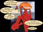 TRUMP-POOL Is Running For President of DeviantArt! by ProjectCornDog