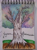 Tree of hapiness and friendship by linamartinez
