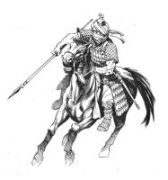 Persian-warrior-knight by StazJohnson