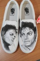 michael jackson shoes by mattcoryart