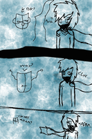 Misbalanced in Life- AT- POA/Mike - Sketch - Comic by UnicornOfShadows