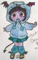 Baby Demona: Colored by GarnetMelody