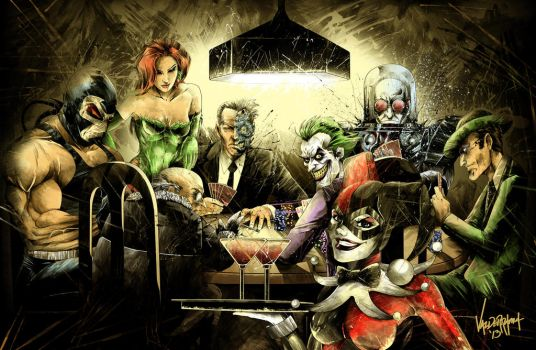 Who Dare Play Poker With Joker QilinPoker.org by HoneyWii