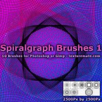 Spiralgraph Brushes 1 by AscendedArts